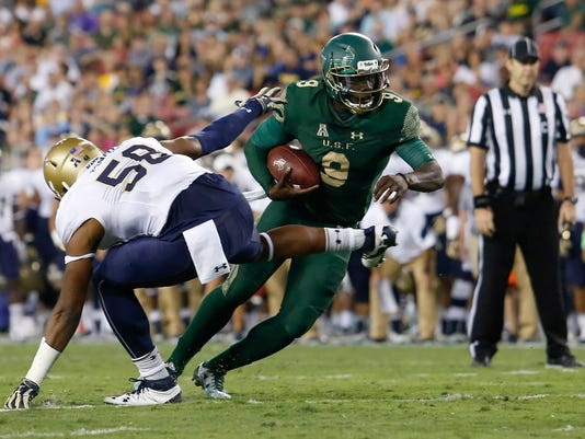 USP NCAA FOOTBALL: NAVY AT SOUTH FLORIDA S FBC USA FL