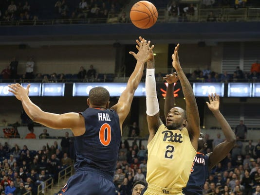 USP NCAA BASKETBALL: VIRGINIA AT PITTSBURGH S BKC USA PA