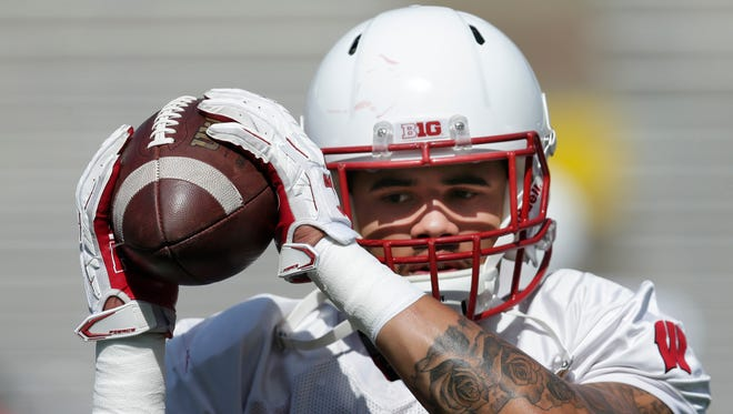 Wisconsin linebacker Zack Baun is recovered from a broken foot and is eager to show what he can do this season for the Badgers.