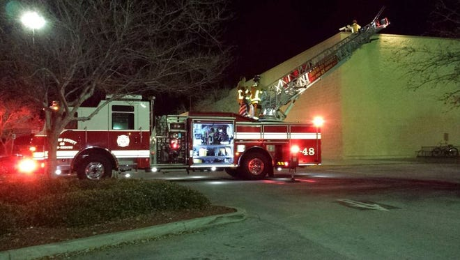 A Wal-Mart off State Road 520 in Merritt Island was evacuated on Wednesday evening.