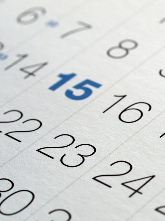 MV calendar