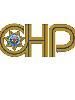 A tile photo of of the California Highway Patrol logo. Troopers were investigating a crash involving two drunken motorcyclists. One rider was seriously hurt.