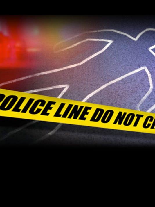 Tile photo of crime tape at a homicide scene