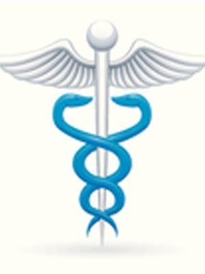 Caduceus symbol of medicine.