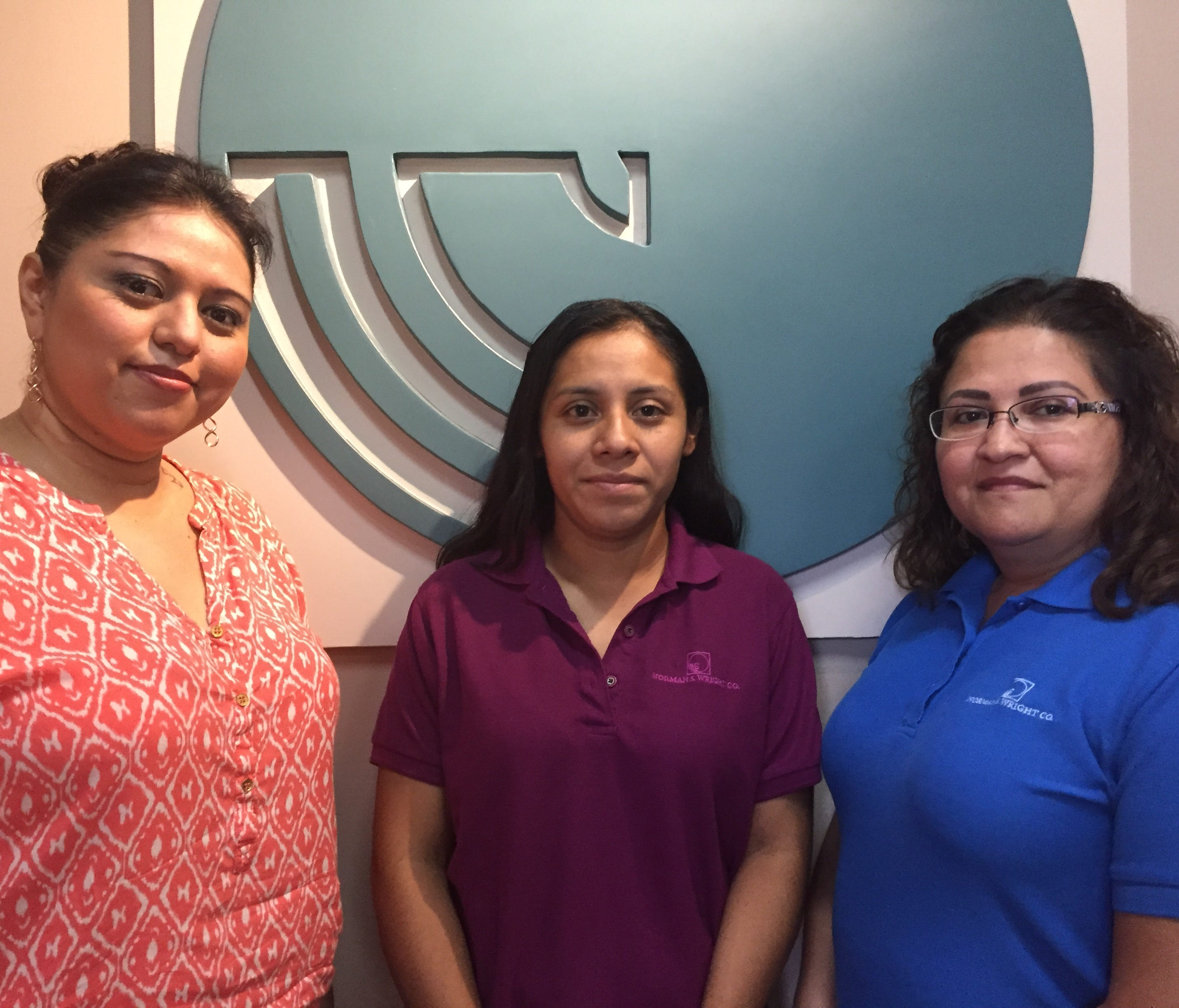 Ada Ayala (from left), Mariam Martinez and Mandy Alvarado say they got their first taste of long-term investing through their company's 401(k) plan.