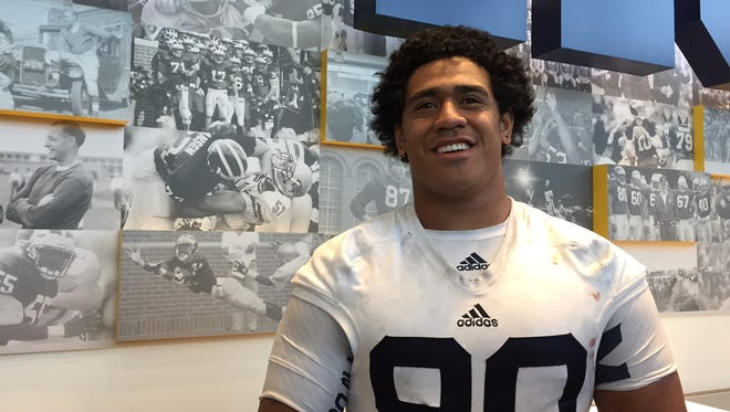 Bryan Mone, Michigan nose tackle