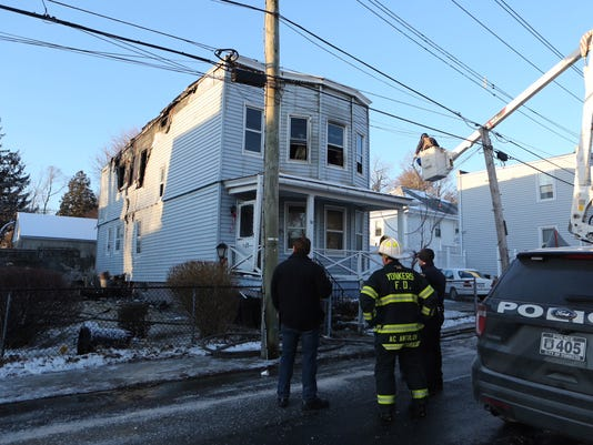 Yonkers Lewis St. fire