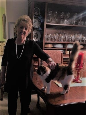Elizabeth Christie enjoys time with Callie.