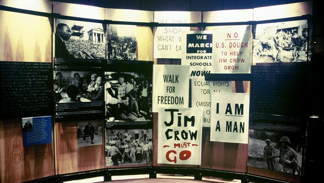 Display at the Martin Luther King Center in Atlanta.