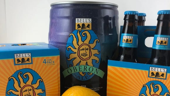 Michigan summer beers such as Bell's Oberon Ale are