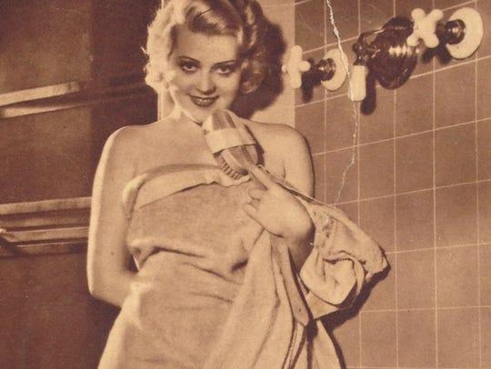 Janet Currie, circa 1930.