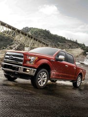 The 2017 Ford F-150, which ranks No. 2 in the Made