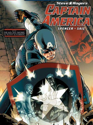 """""""Captain America"""" is among the comics being given away Saturday at Free Comic Book Day."""
