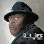 "Album cover art, ""Last Man Standing,"" music by CeDell Davis."