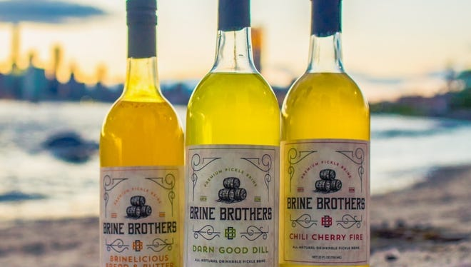 Brine Brothers' three flavors.