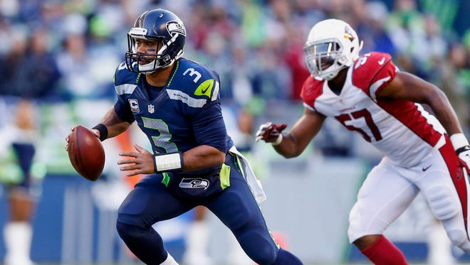 It continually came through in the first half, holding the Seahawks to field goals despite their favorable field position.