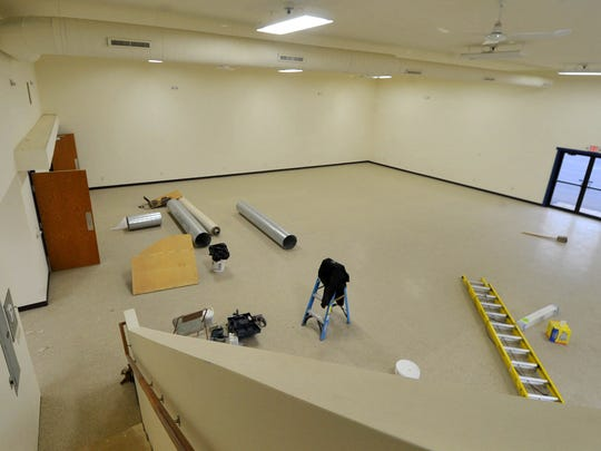 Construction continues on the Wausau World Market, which may open as soon as December.