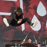 AFI performs on Firefly stage