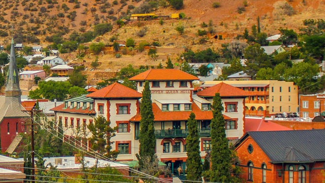 The historical hotel in Bisbee opened in 1902.