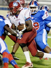 Minden High's Zi'Kerrion Baker, a Cajun recruit who