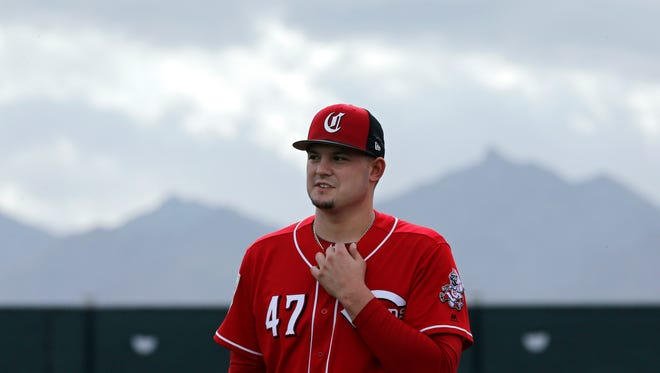 Right-hander Sal Romano will start the spring opener for the Reds on Friday against Cleveland.