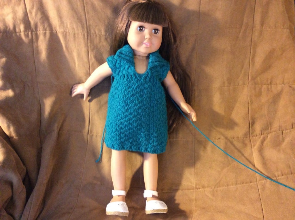 Knitted Doll Dresses