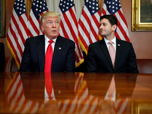 Donald Trump, Paul Ryan