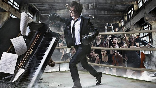 Ben Folds takes the stage with his piano-driven, alternative-pop sound for a July 8 concert at Door Community Auditorium.