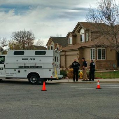 Scene of Arvada shooting.