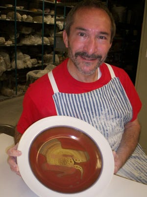 Master potter Lonnie Bodzin of Southfield is an emergency room doctor by day.