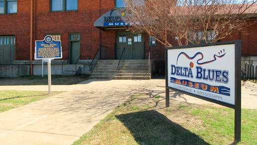 This March 10, 2017 photo shows the Delta Blues Museum in Clarksdale, Miss. It's one of a number of museums, historic sites and other attractions in the Delta that explores the region's rich musical history.
