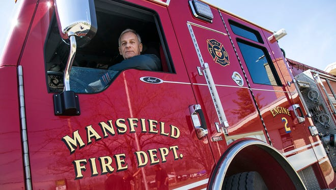 Wes Welch was the engine driver for the Mansfield Fire Engine Company No. 2 on Brookwood Way. Welch served for 28 years with the department before his retirement this spring.