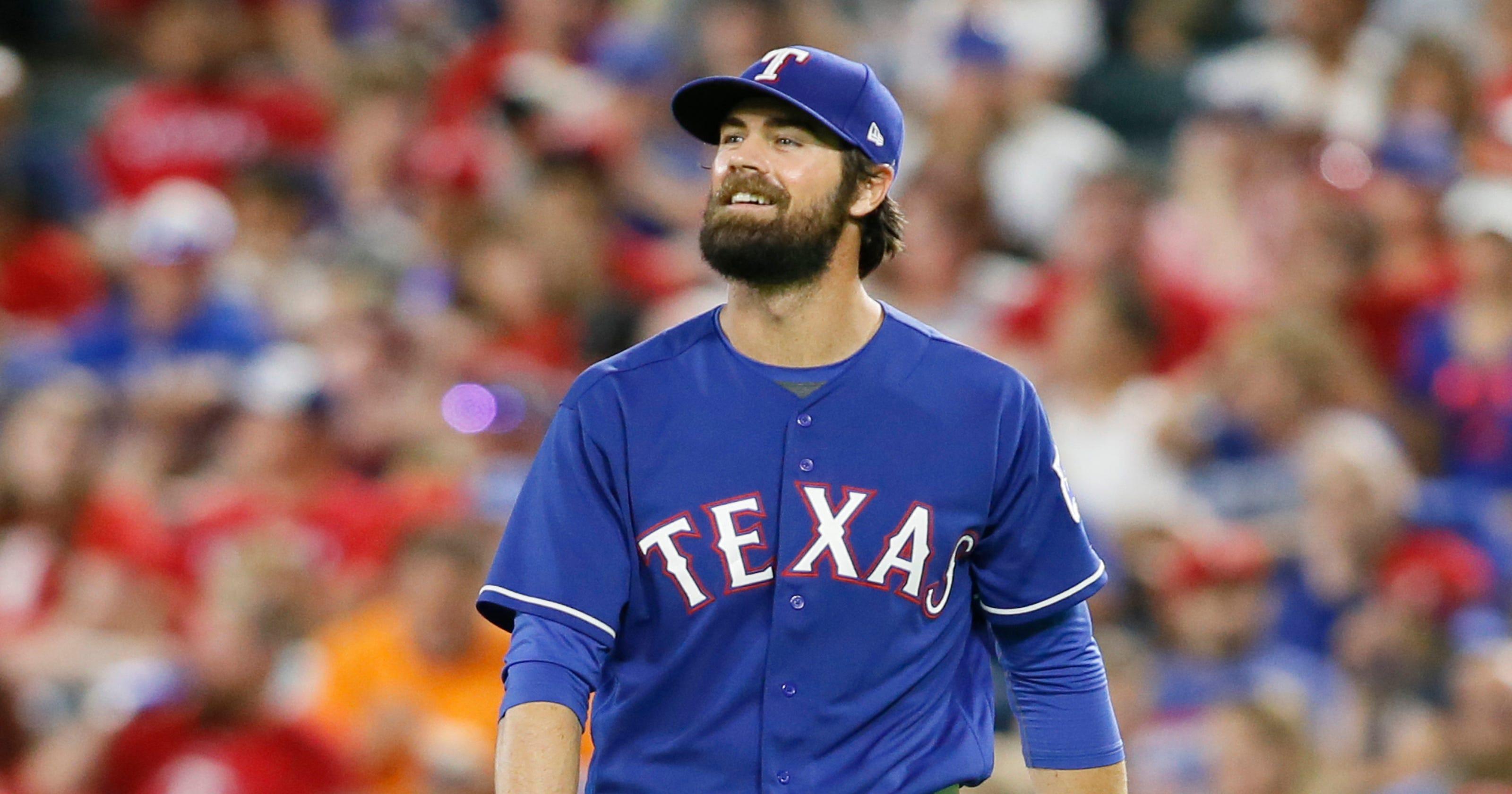 e75c6446a Texas Rangers place Cole Hamels on DL