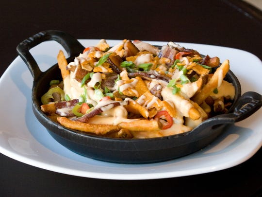 Happy-hour offerings at District American Kitchen and