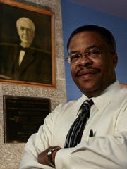 Ronald Powe is retiring as principal at Napier Enhanced