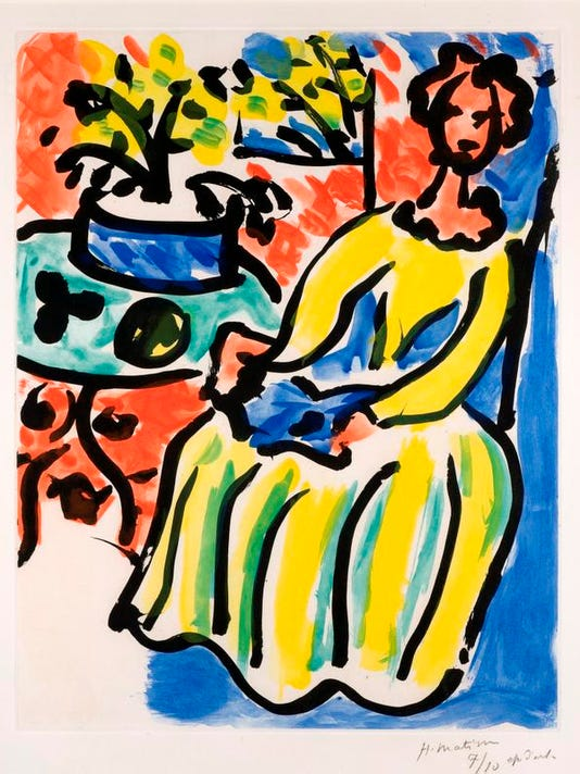 Matisse Marie-José in a Yellow Dress (III).jpg