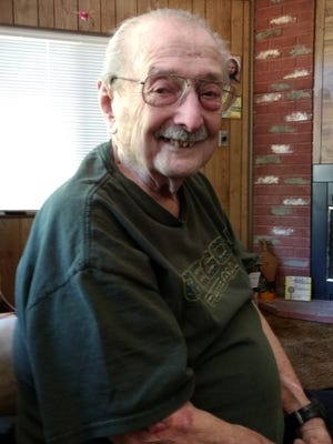 Frank King, a member of The Greatest Generation, and one of the best people I know.