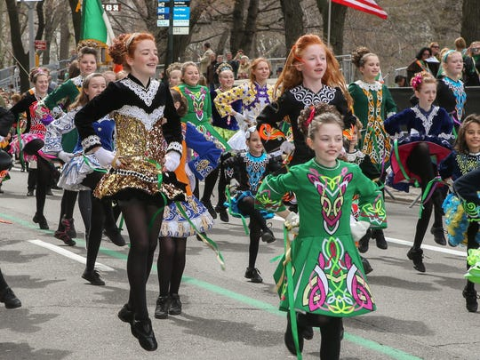 Irish dancers at the 2016 NYC St. Patrick's Day Parade. Photo: Dominick Totino_nycstpatricksparade.org