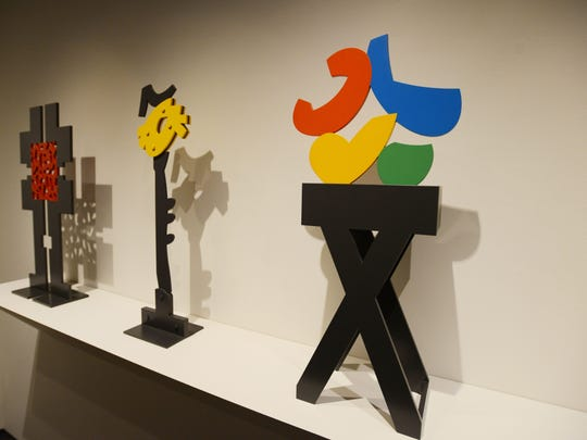 """""""Mel Katz: Drawings and Small Sculptures"""" is on exhibit at the Hallie Ford Museum of Art through July 19. These maquettes — scale models — are one step in Katz's creation of large-scale sculptures."""