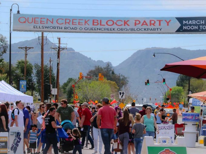 The Queen Creek Block Party is all about a little friendly