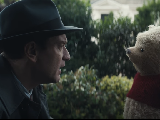 The film stars Ewan McGregor as an older Christopher Robin, who thinks back to his storied days hanging out with Pooh and company.
