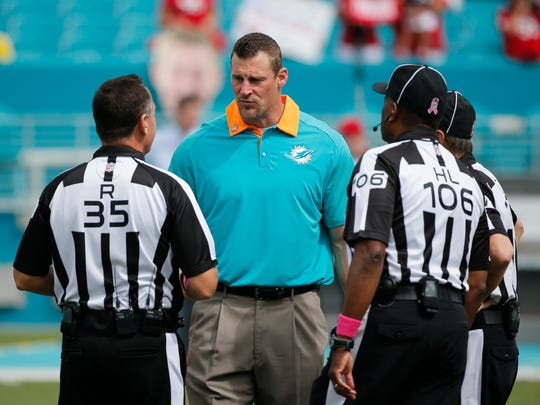 Miami Dolphins head coach Dan Campbell isn't just the