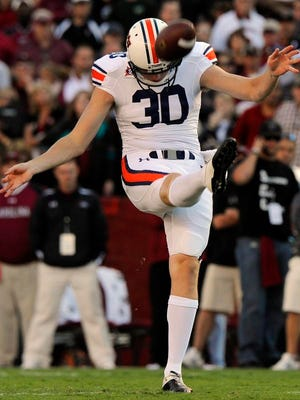 Former Auburn punter Steven Clark agreed to sign with the Denver Broncos as an undrafted free agent.