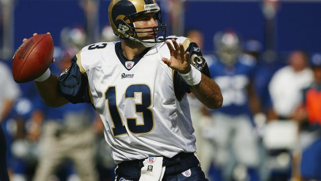 Kurt Warner helped make the Rams one of the most entertaining — and most successful — teams of the late '90s.