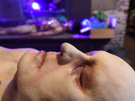 A macabre medical scene is one of the frightening sights