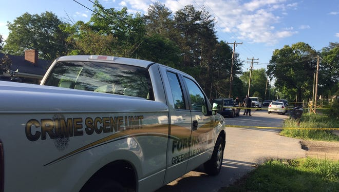 Poice are on the scene of a deadly shooting in Taylors.