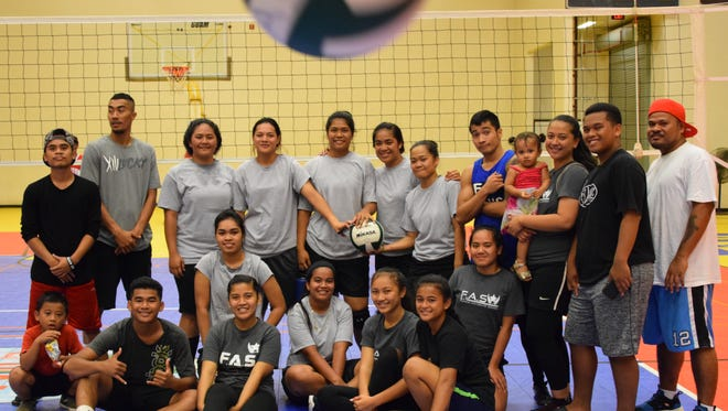 Women's Division games of the FAS Athletic Club FSM Youth Volleyball League on Saturday, May 27 at the Dededo Sports Complex.