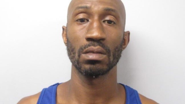 Jamil S. Hicks, 38, of Wilimington, N.C. was arrested in the alleged theft of three guns from a River Road location on Saturday night.