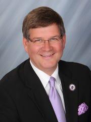 University of Northern Iowa President Bill Ruud