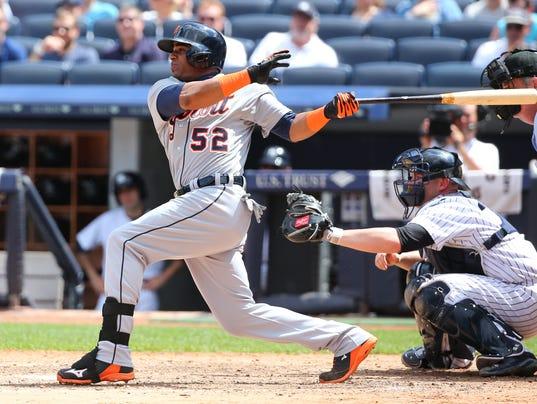USP MLB: DETROIT TIGERS AT NEW YORK YANKEES S BBA USA NY